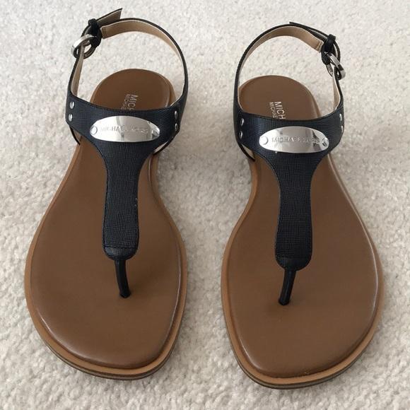 cfc4eba7873f Brand New MICHAEL Michael Kors Plate Thong Sandals